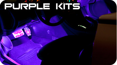 Purple Interior Kits