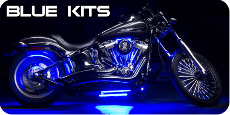 Blue Motorcycle Kits