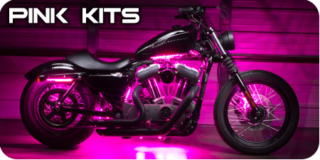 Pink Motorcycle Kits