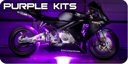 Purple Motorcycle Kit