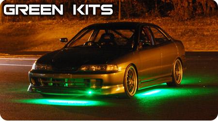 Green Underbody Kits