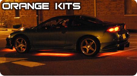 Orange Underbody Kits