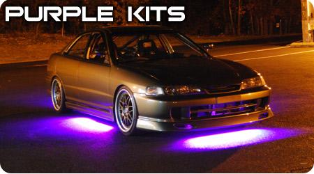 Purple Underbody Kit