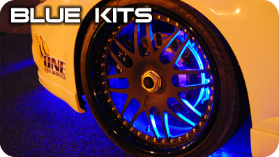 Blue Wheel Well Kits