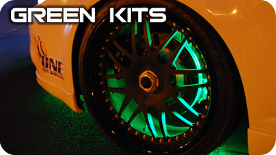 Green Wheel Well Kits