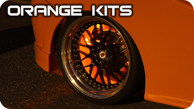 Orange Wheel Well Kits