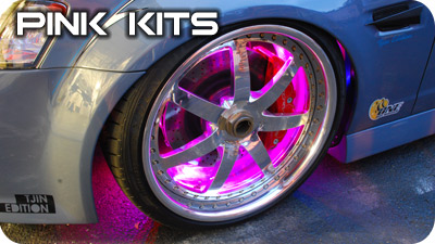 Pink Wheel Well Kits