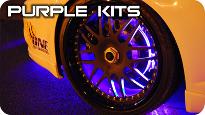 Purple Wheel Well Kits