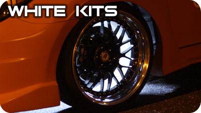 White Wheel Well Kits