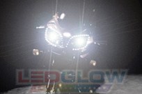 2pc Motorcycle LED Strobe Light Kit
