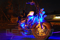 12pc Blue Classic LED Motorcycle Light Kit