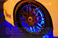 Blue Flexible LED Wheel Well Lights
