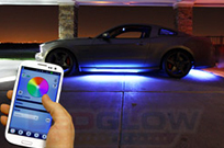 Bluetooth Enabled Million Color LED Underbody Lighting Kit