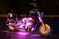 10pc Pink Classic LED Motorcycle Light Kit