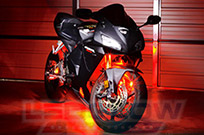 6pc Advanced Red LED Motorcycle Light Kit