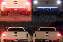 60 Inch Full Size Truck Red LED Tailgate Light Bar with Reverse Lights