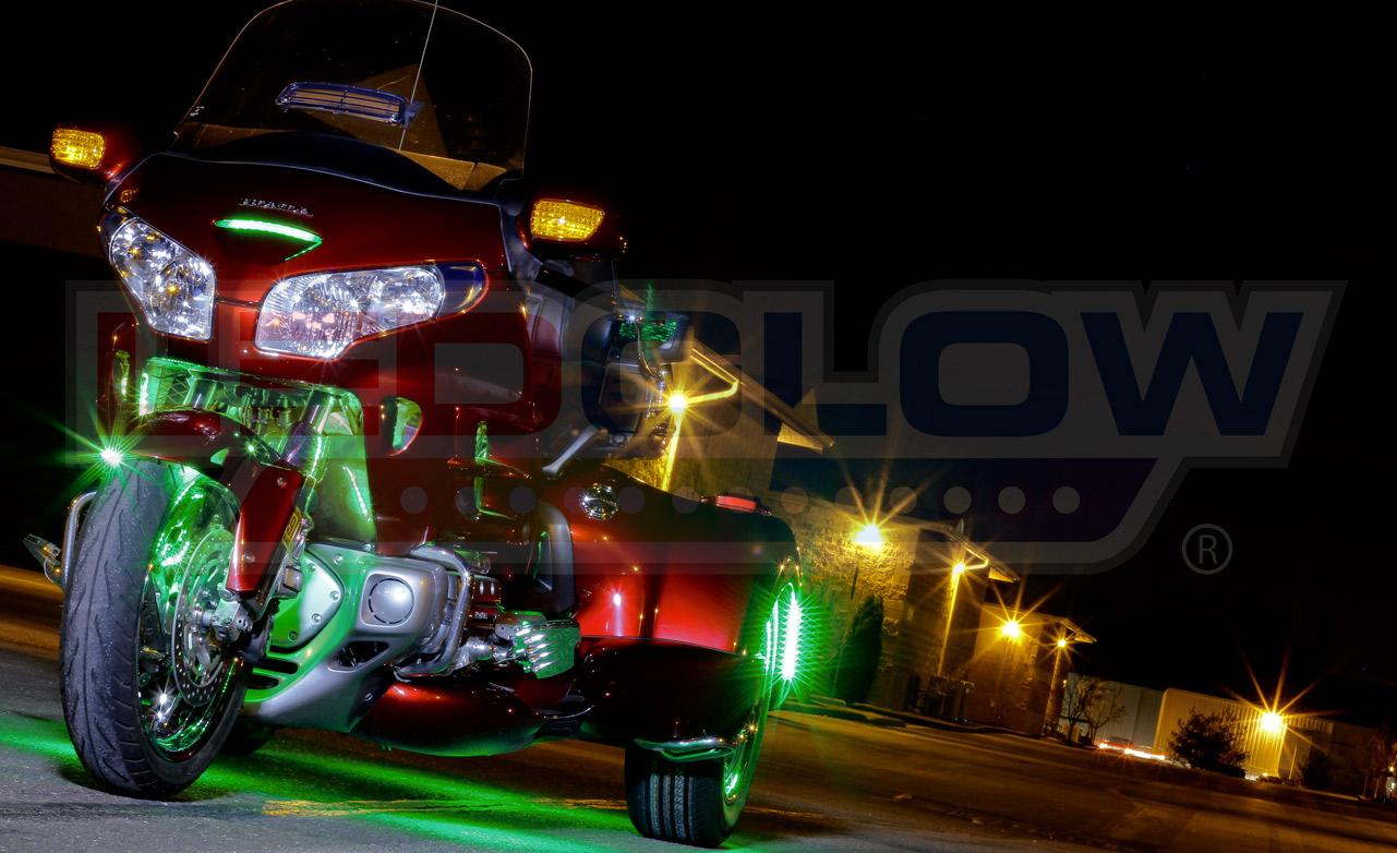 Pin It & Spotlight: LiteTrike Million Color LED Lighting Kits | MOTORCYCLE ...